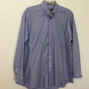 Kirkland Men's Long Sleeve Dress Shirt 16 1/2